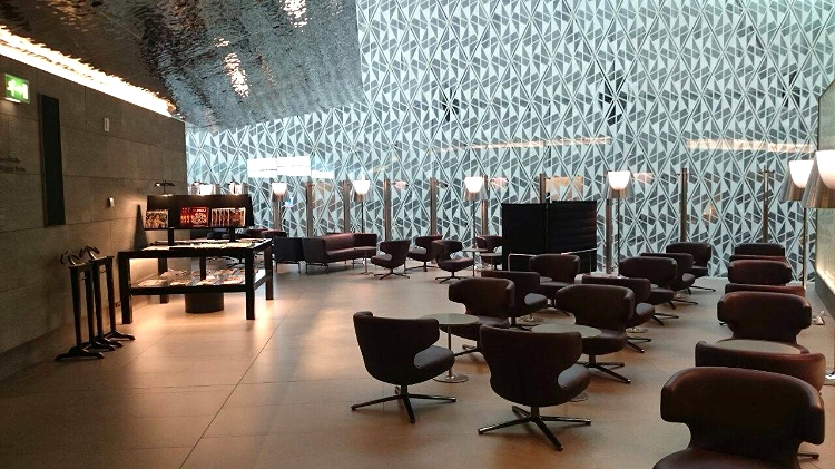 Euriental | Al Mourjan Business lounge at Doha airport