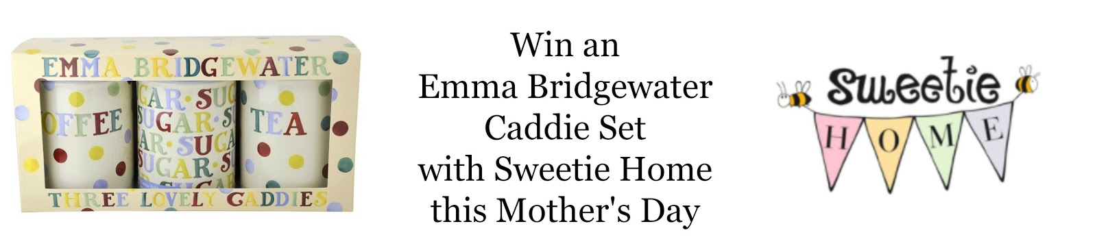Mother's Day Gift Ideas with Sweetie Home in Northumberland plus an Emma Bridgewater Giveaway