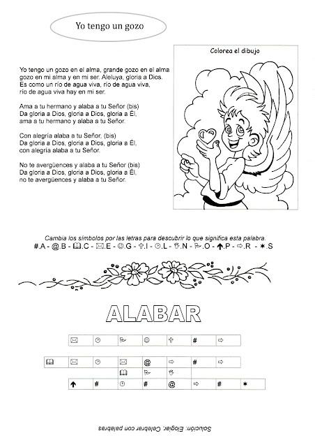 La Catequesis (El blog de Sandra): Recursos Catequesis Fichas de ...
