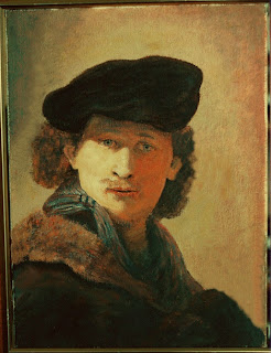 Rembrandt Van Rijn, 28 ans en 1634. Copie d'un autoportrait