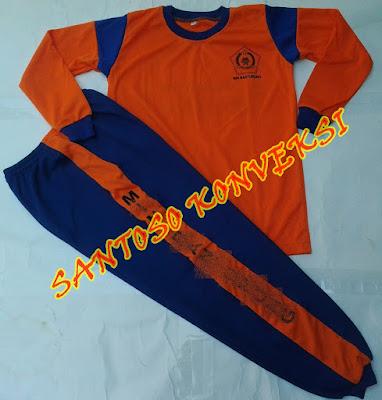 Jual Stelan Kaos Celana Trening Seragam Olahraga Sekolah