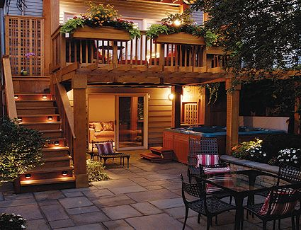 Second story deck ideas for your backyard remodelando la for 2nd floor deck ideas