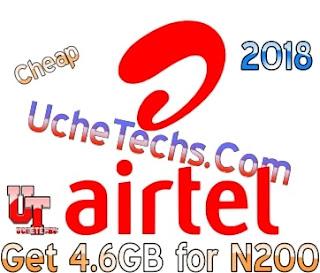 Get Airtel 4.6GB for N200