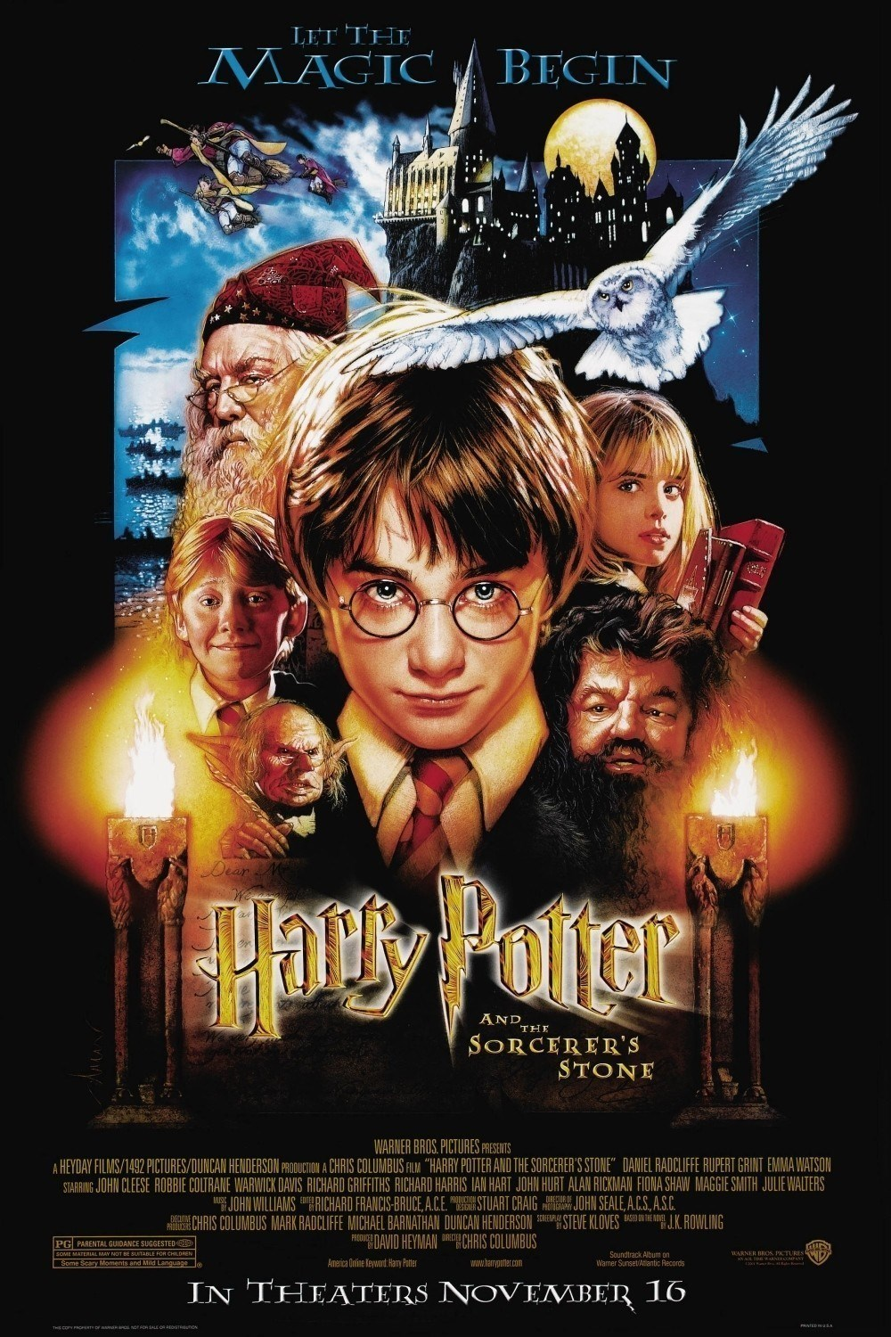 Harry Potter and the Philosopher's Stone 2001 - Full (HD)