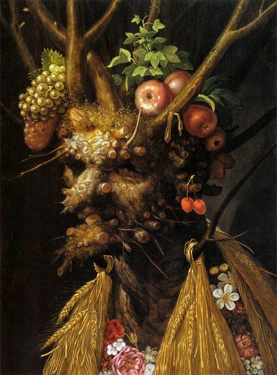 """As quatro estações em um Chefe - Giuseppe Arcimboldo e suas fantásticas pinturas ~ Inclui """"As Quatro Estações"""""""