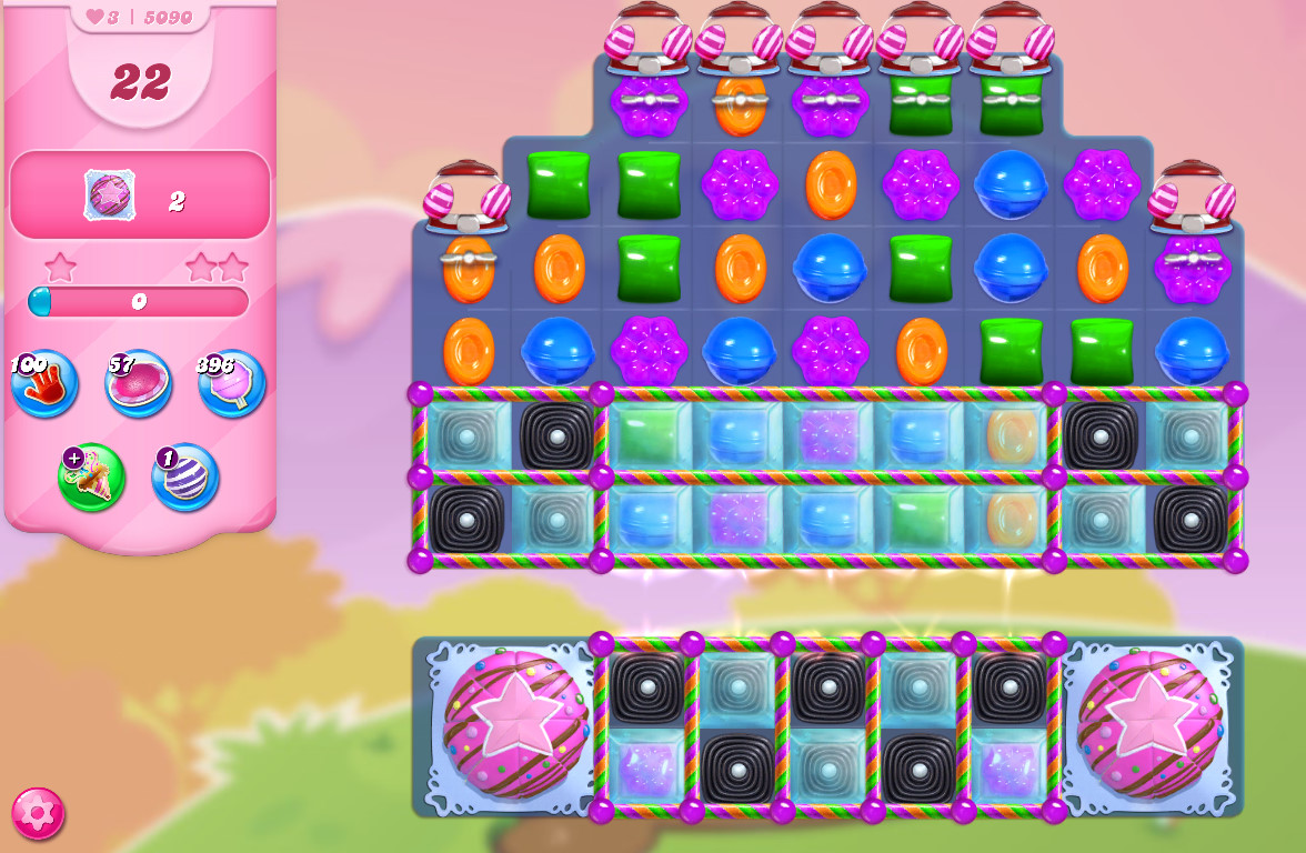 Candy Crush Saga level 5090