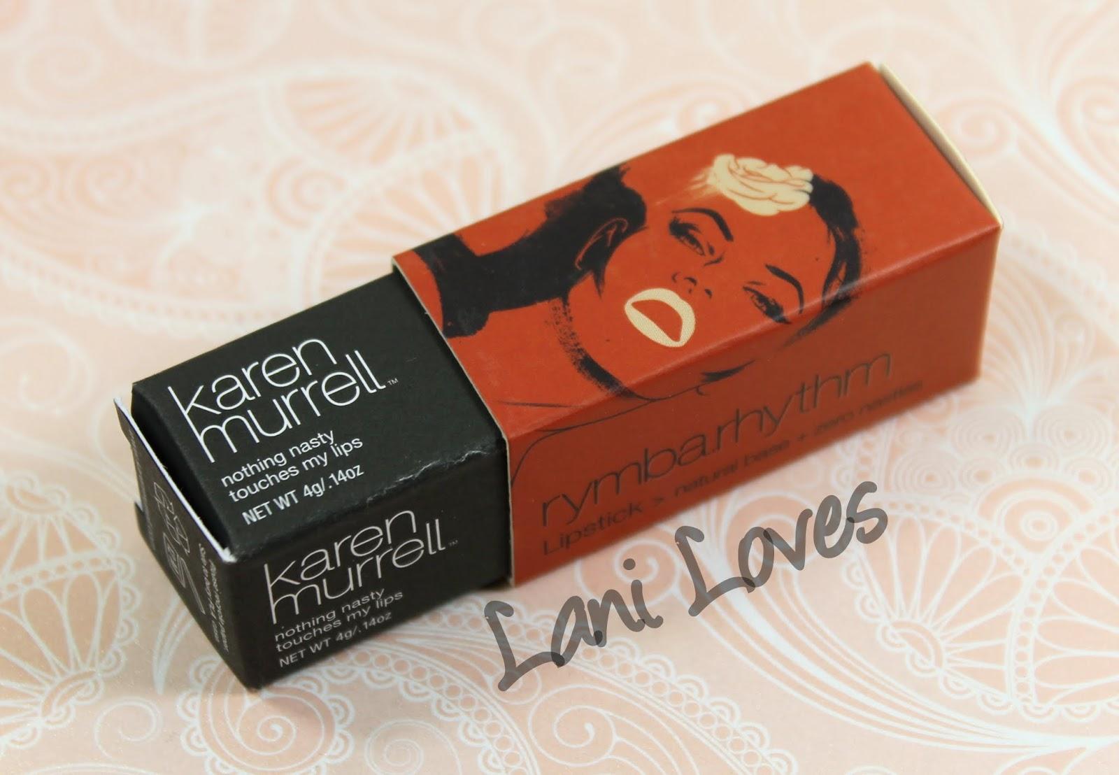 Karen Murrell Rymba Rhythm Lipstick Swatch and Revoew