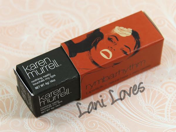Karen Murrell Lipstick - Rymba Rhythm Swatches & Review