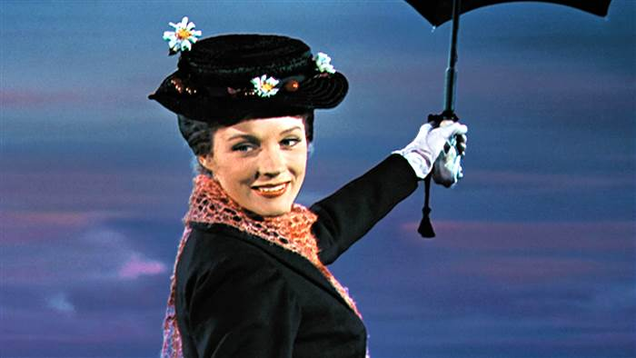 MAry Poppins smiling