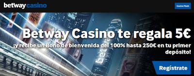 Betway 5 euros gratis sin deposito