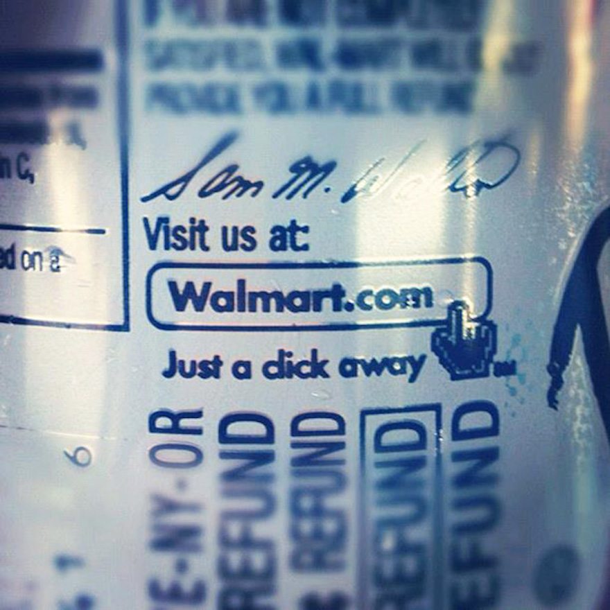 16 Times Bad Letter Spacing Made All The Difference - Even Walmart Gets Kerning All Wrong From Time To Time