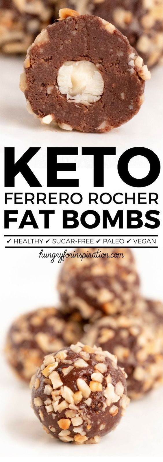 Ferrero Rocher Keto Fat Bombs