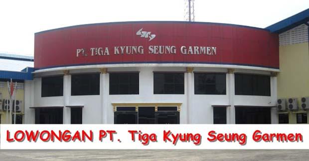 PT Tiga Kyung Seung Garmen