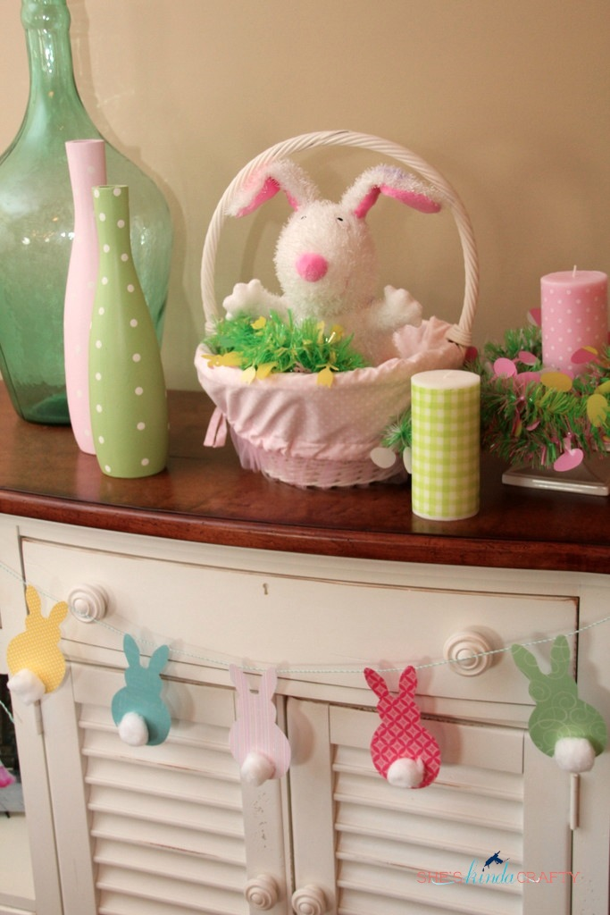 Pottery Barn Kids Knock Off Easter Bunting Shes Kinda