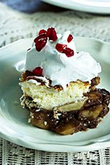 No-Sugar-Added (No Kidding) Apple Cobbler w/ Coconut Whipped Cream