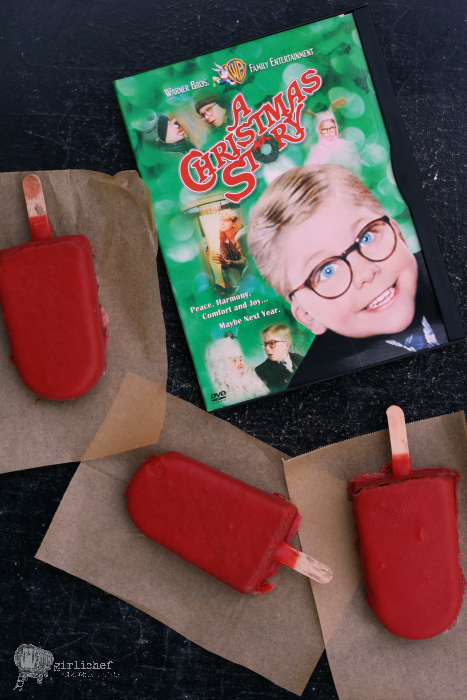 """Oh Fuuuuudge Pops"" inspired by A Christmas Story for #FoodnFlix"