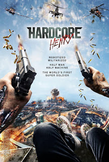 Cartel película Hardcore Henry