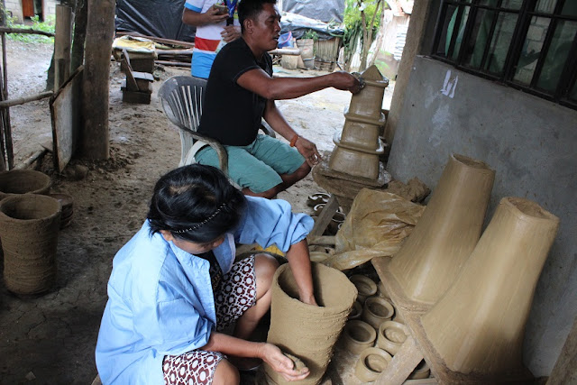 pottery making in iguig