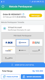 Metode pembayaran Payfazz Virtual Account