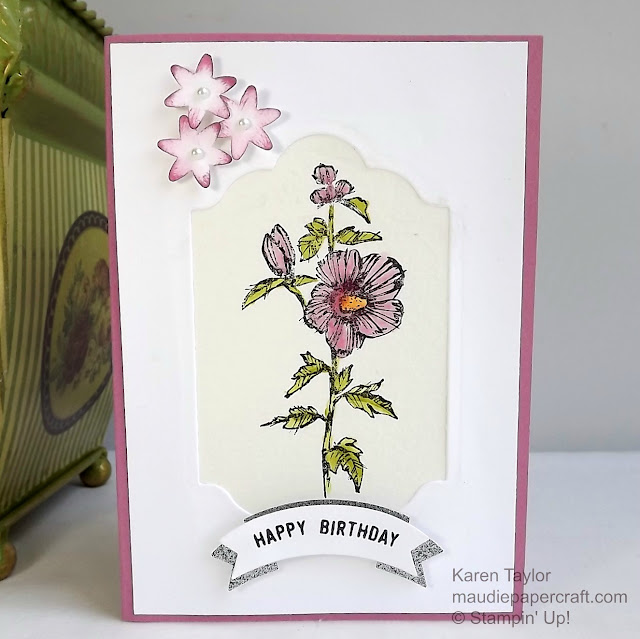 Stampin' Up! Fabulous Flora card