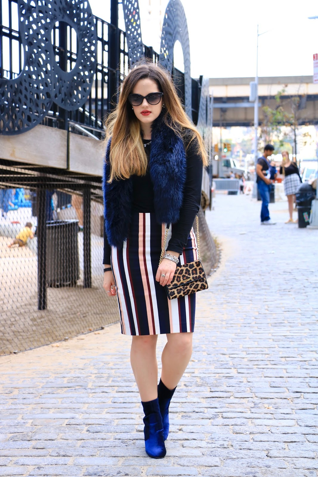Nyc fashion blogger Kathleen Harper wearing Thanksgiving outfit ideas