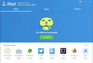 Cara Root Samsung Galaxy J1 menggunakan pc