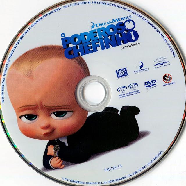 Label DVD O Poderoso Chefinho