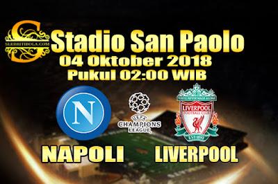 Judi Bola Dan Casino Online - Prediksi Pertandingan Liga Champions Napoli Vs Liverpool 04 Oktober 2018