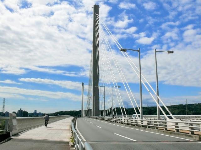 多摩川 四谷橋