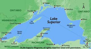 ABD'nin En Büyük Gölü Superior
