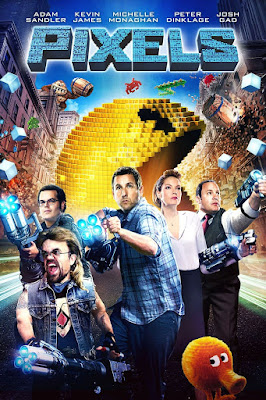 Pixels (2015) Dual Audio ORG Hindi 720p BluRay ESubs 900MB