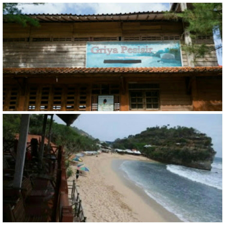 Penginapan Griya Pesisir Ini Merupakan Berhadapan Langsung Dengan Pantai Indrayanti Persis Berada Di Dekat