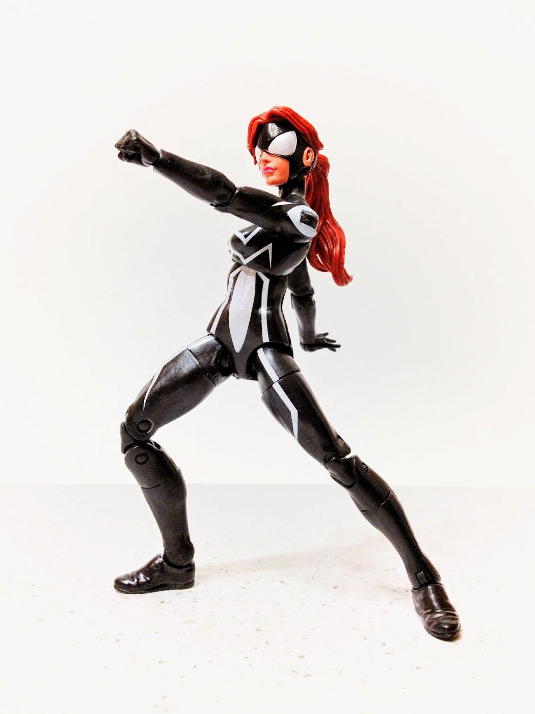 Combo Action Figur Gennemgang af Spider-Girl Marvel Legends-2286