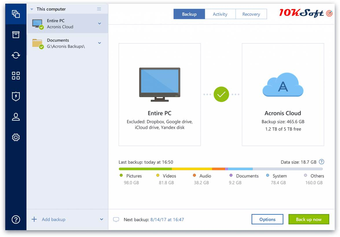 Acronis True Image 2018 Latest Version Direct Download Link