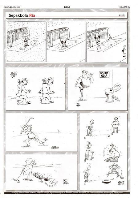 Sepakbola Ria EDISI JUM'AT, 21 JULI 2000
