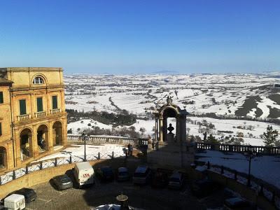 Risultati immagini per neve a Treia