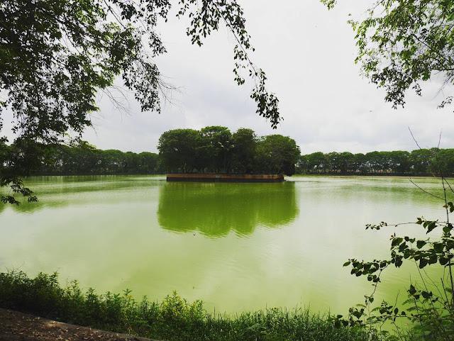 Tasikardi Lake is tourist destination in banten