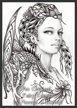 Fairy Tangles January 2013