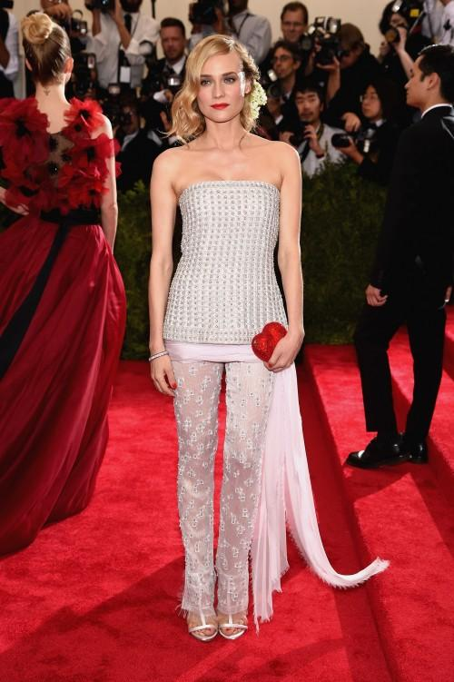 Diane Kruger in Chanel Haute