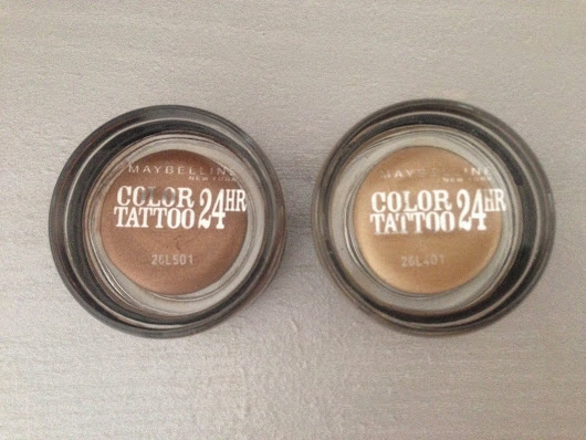 Maybelline Color Tattoo 24hour Eyeshadow- Review
