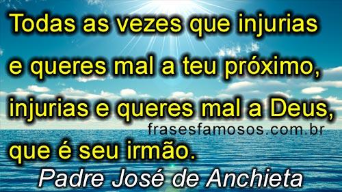 frase de José de Anchieta