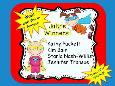 Picture of Fern Smith and Teach123's July Winners for the Dynamic Duo Contest!