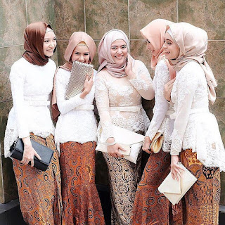 Model Kebaya Batik Muslim
