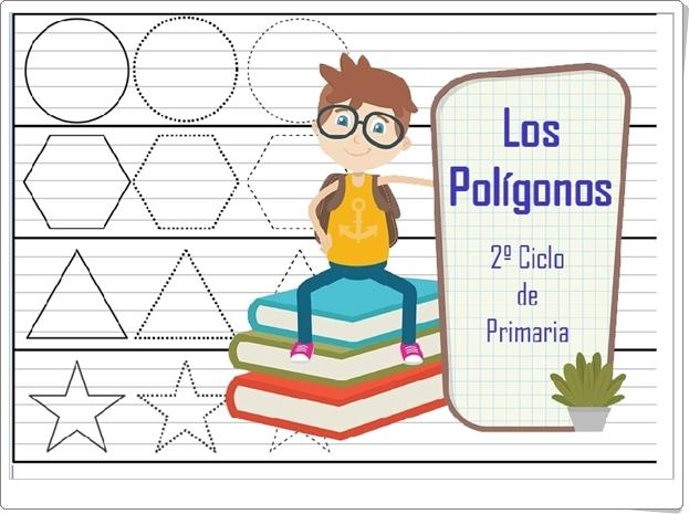 """""""Los polígonos"""" (Aplicación interactiva de Matemáticas de Primaria)"""