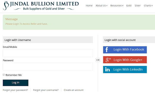 Jindal Bullion Loot Offer : Register And Get 1g (Gram) Silver Free + Refer To Earn More