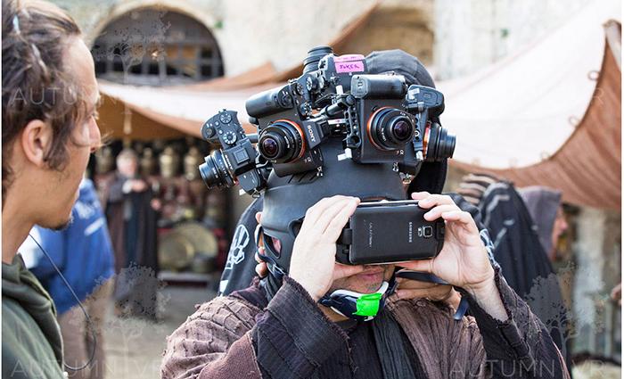 Съемка 360-градусного VR-видео на несколько Sony A7R. Источник: autumnvr.com
