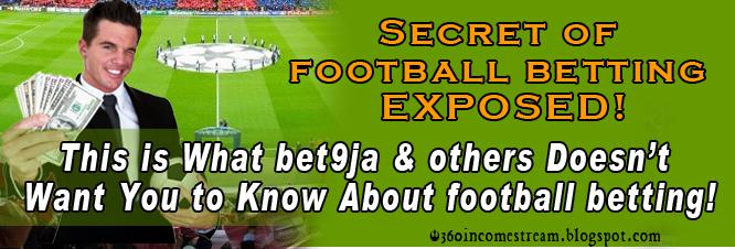 Secret of football betting csgo betting 0 012