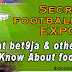 Secret of Football Betting Exposed!
