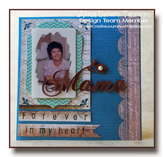 A Creative Journey with Melissa August Blog Hop