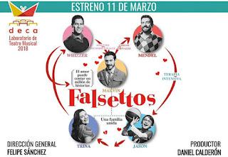 "FALSETTOS ""Una familia unida"""